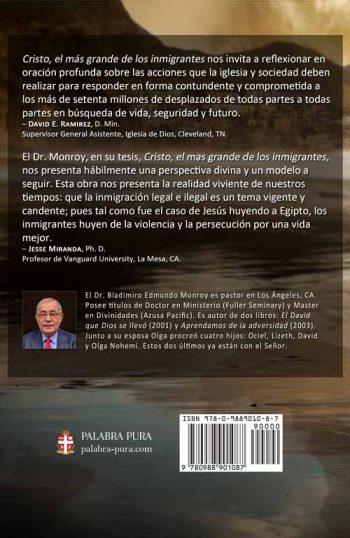 Cristo, el más grande de los inmigrantes, Monroy